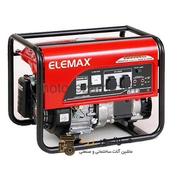 موتور برق هوندا المکس Honda Elemax SH3900EX
